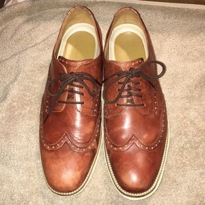 Cole Haan 26471 Grand Short Wing Oxford work-shoe